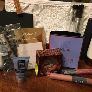 Lacie Makeup Bag W/Assorted Sample Products. NEW